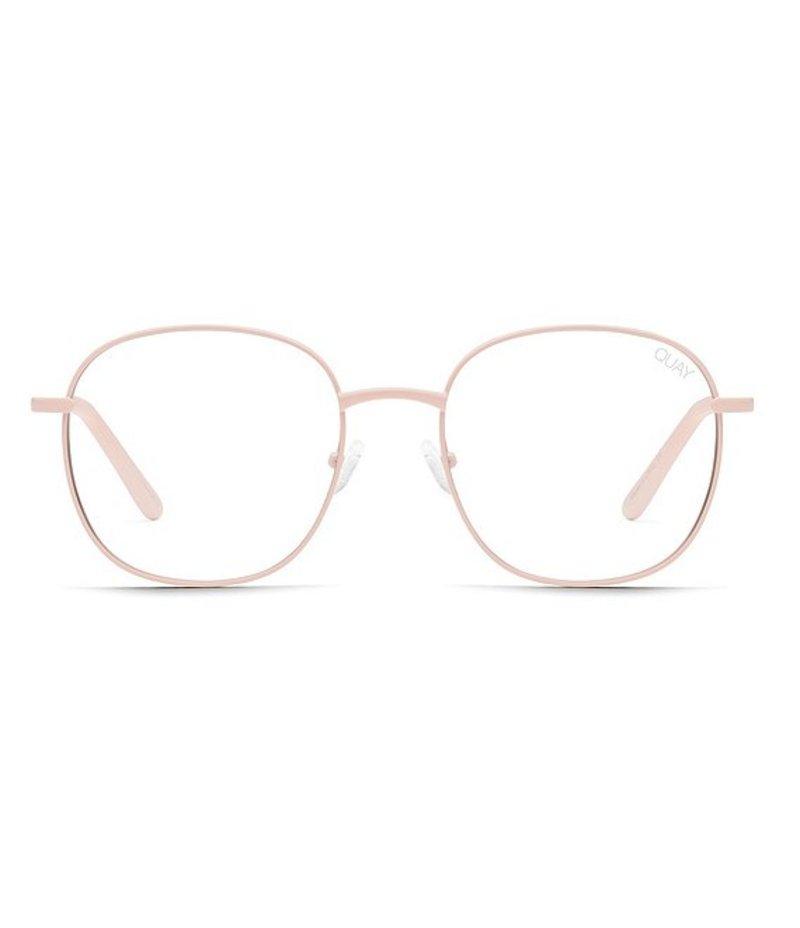 クアイオーストラリア レディース サングラス・アイウェア アクセサリー Jezabell Round Blue Light Glasses Pink
