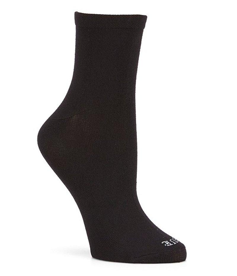 ヒュー レディース カジュアルパンツ ボトムス Super Soft Cropped Sock 3 Pack Black