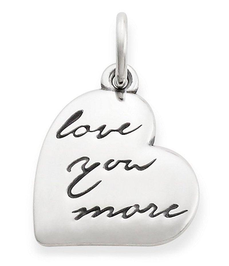 ジェームズ エイヴリー レディース ネックレス・チョーカー アクセサリー Love You More Pendant Silver