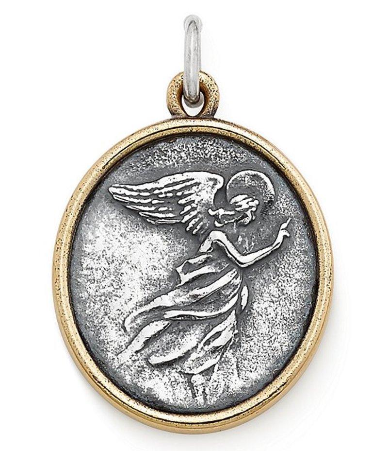 ジェームズ エイヴリー レディース ネックレス・チョーカー アクセサリー Seraphina Angel Pendant Sterling Bronze