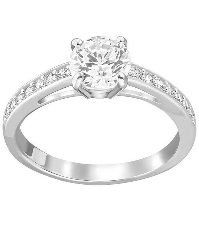 スワロフスキー レディース 指輪 アクセサリー Attract Crystal Ring Silver/Crystal