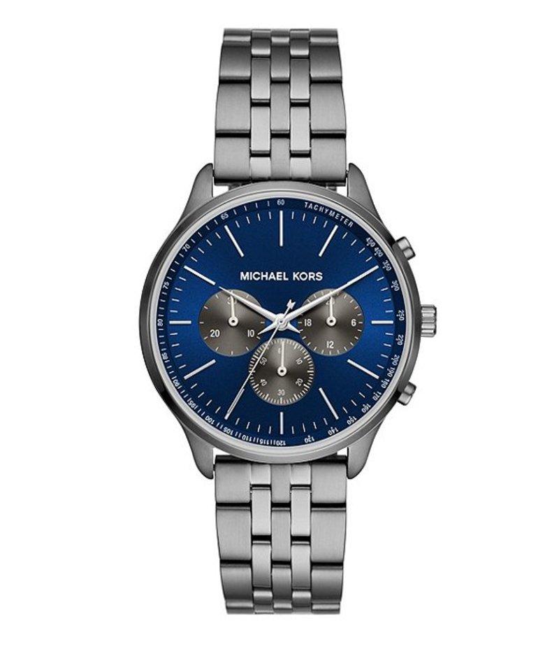 マイケルコース メンズ 腕時計 アクセサリー Sutter Chronograph Gunmetal Stainless Steel Watch Gunmetal