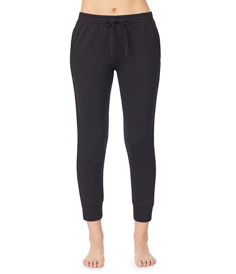 ベッツィジョンソン レディース カジュアルパンツ ボトムス Girl Power Side Stripe Sleep Pants Black