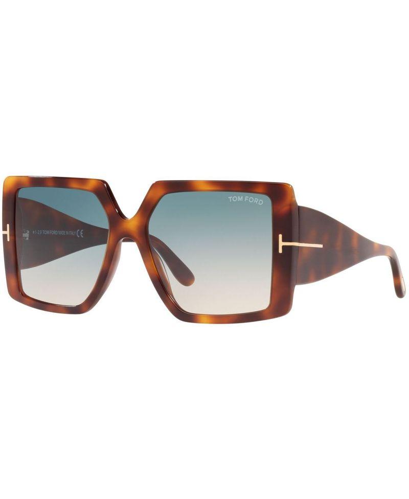送料無料 サイズ交換無料 新色 トム 大好評です フォード レディース アクセサリー サングラス TORTOISE GREEN GOLD Sunglasses GRAD FT0790W5753P アイウェア
