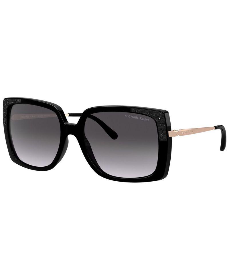 マイケルコース レディース サングラス・アイウェア アクセサリー Rochelle Sunglasses MK2131 56 BLACK