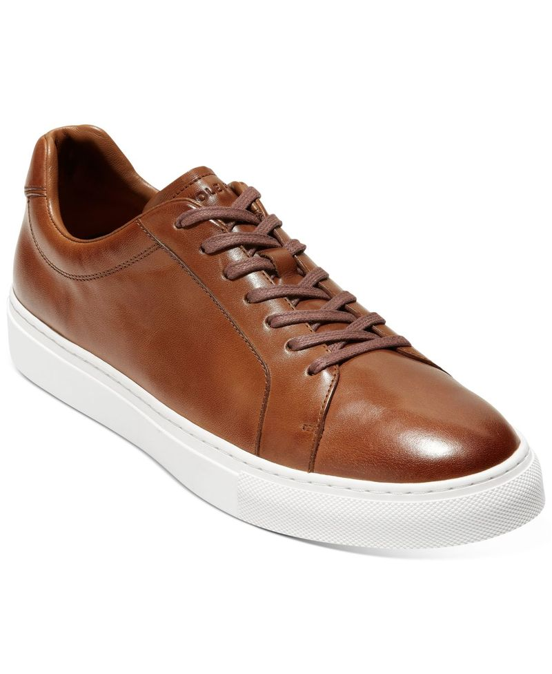 送料無料 サイズ交換無料 メイルオーダー コールハーン メンズ シューズ スニーカー British Series Sneakers Men's Grand セール Tan Jensen