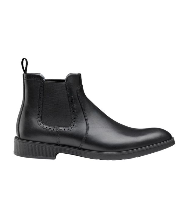 送料無料 サイズ交換無料 ジョンストンアンドマーフィー おすすめ メンズ シューズ ブーツ レインブーツ Maddox Chelsea Men's Water-resistant Black XC4 Boots 人気 おすすめ