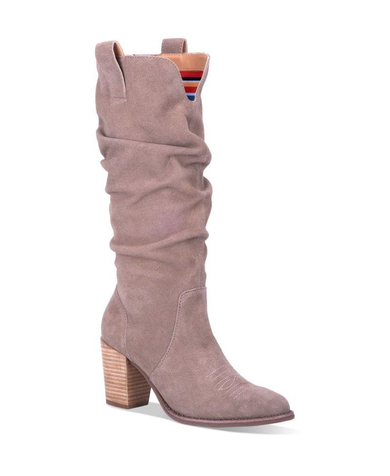 ディンゴ レディース ブーツ・レインブーツ シューズ Women's Cantina Leather Regular-Calf Boot Taupe