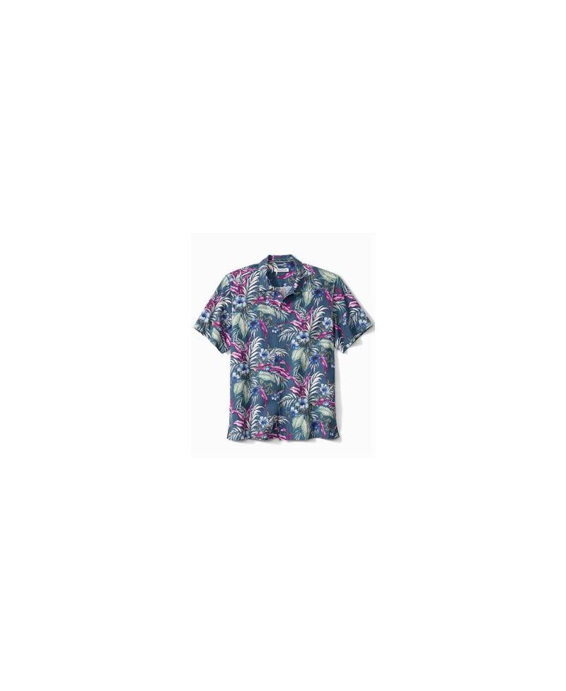 送料無料 サイズ交換無料 トッミーバハマ メンズ トップス 期間限定お試し価格 シャツ Blue Blooms Shirt Camp Ash Evening Men's 初売り