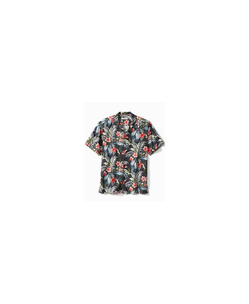 送料無料 信託 サイズ交換無料 トッミーバハマ メンズ トップス シャツ Night Cap Men's Shirt Evening Blooms Camp 永遠の定番モデル