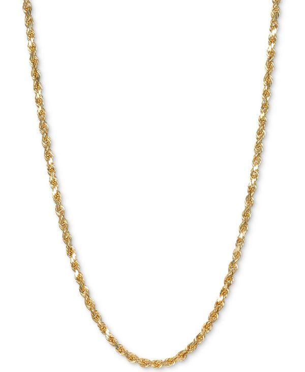 【正規販売店】 イタリアン ゴールド レディース ネックレス・チョーカー・ペンダントトップ アクセサリー Rope Rope アクセサリー 24 レディース Chain Necklace in 14k Gold Yellow Gold, 暮らしを彩る  いろえんぴつ:ac3d8dbd --- beautyflurry.com