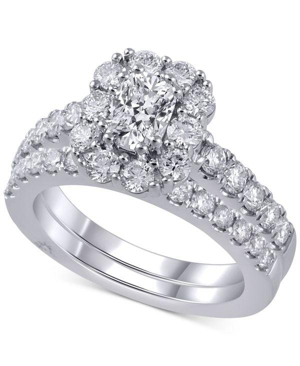 【在庫あり/即出荷可】 マルケッサ レディース Set 18k リング アクセサリー Diamond Bridal Set White (2 ct. t.w.) in 18k White Gold White Gold, アワラシ:16ed2e62 --- easassoinfo.bsagroup.fr