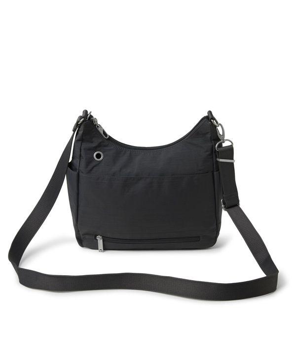 送料無料 サイズ交換無料 バッガリーニ レディース 期間限定特価品 バッグ ショルダーバッグ Time Crossbody Free Bag Charcoal 現金特価 Anti-Theft