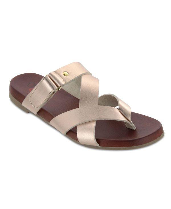 送料無料 内祝い サイズ交換無料 ミア メイルオーダー レディース シューズ サンダル Phillipa Gold-Tone Sandals Amore Rose Women's