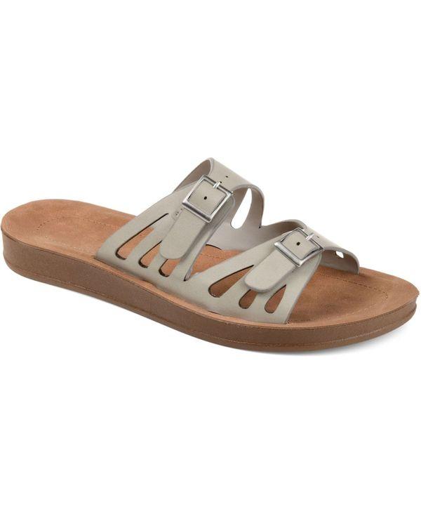 送料無料 サイズ交換無料 ジュルネ コレクション 直営ストア レディース シューズ 格安 価格でご提供いたします Sandals Grey Telsa サンダル Women's