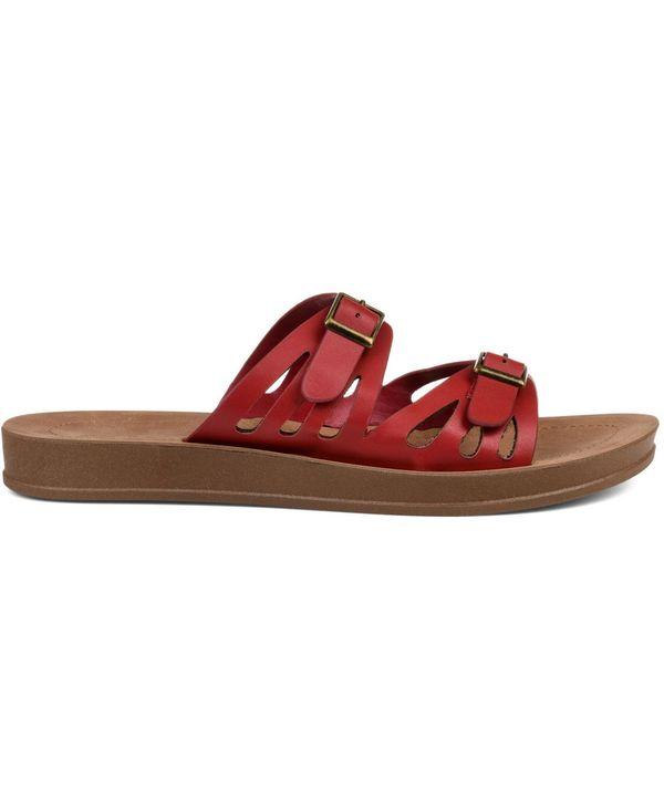 送料無料 別倉庫からの配送 サイズ交換無料 ジュルネ コレクション レディース シューズ Sandals 今だけ限定15%OFFクーポン発行中 Red Women's Telsa サンダル