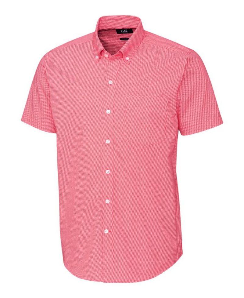 送料無料 サイズ交換無料 カッターアンドバック メンズ トップス マーケット シャツ Print Dit-Dat Men's 新品 Embark Strive