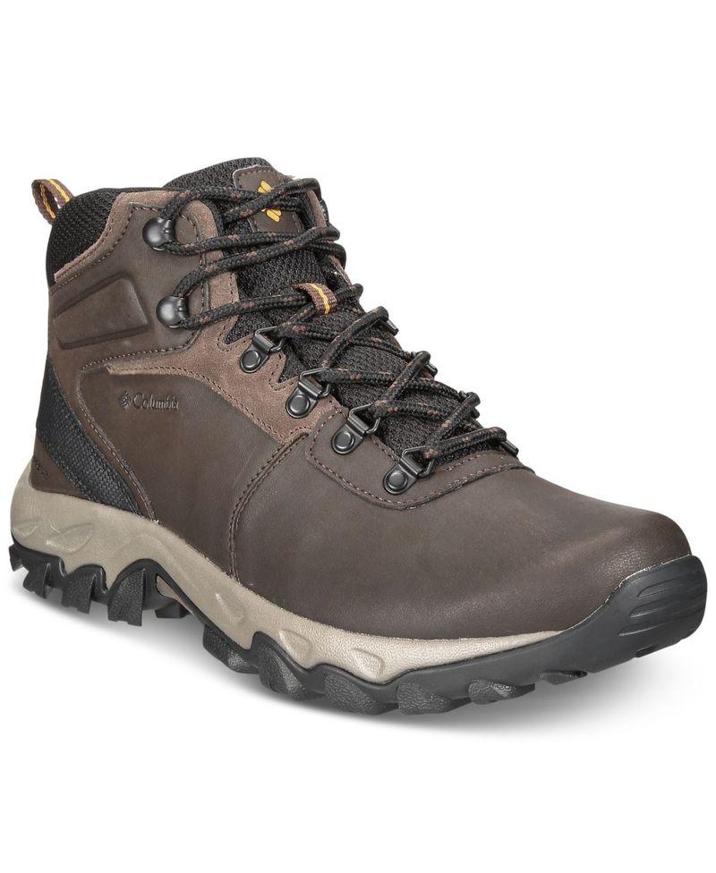 コロンビア メンズ ブーツ·レインブーツ シューズ Men's Newton Ridge Plus II Waterproof Hiking Boots Cordovan, Squash