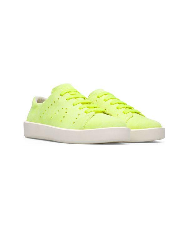 カンペール メンズ スニーカー シューズ Men's Courb Sneakers Lemon