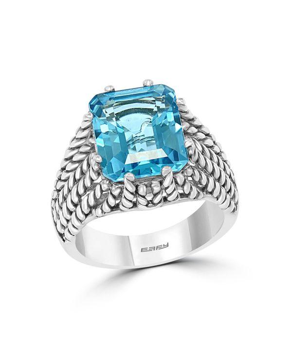 エフィー レディース リング アクセサリー EFFY Blue Topaz ( 4-3/4 ct. t.w.) Ring in Sterling Silver Blue Topaz