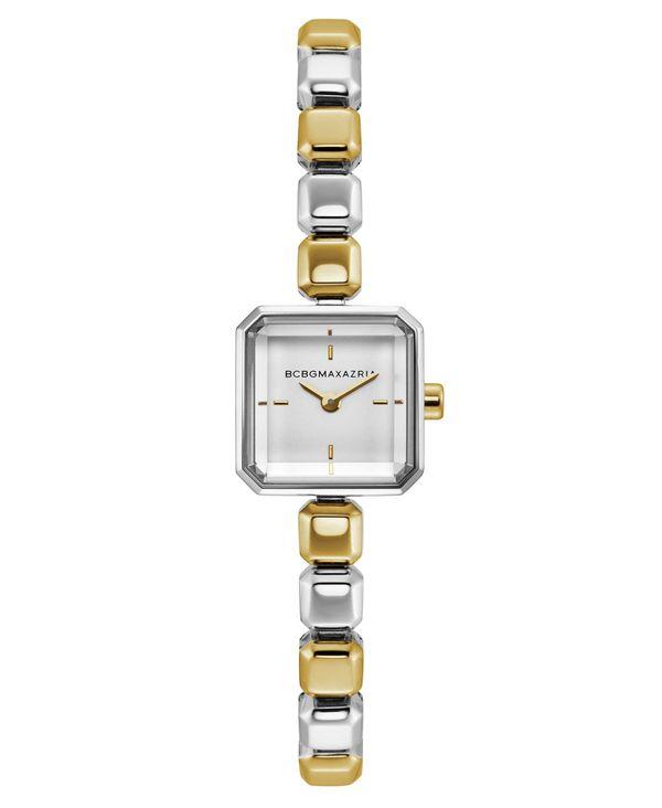 【30%OFF】 ビーシービージーマックスアズリア レディース Bracelet 腕時計 アクセサリー Ladies Two Tone Bracelet Silver Watch No with Silver Square Dial 20mm No Color, ワールドドライブショップ:95f01838 --- hi-tech-automotive-repair.demosites.myshopmanager.com