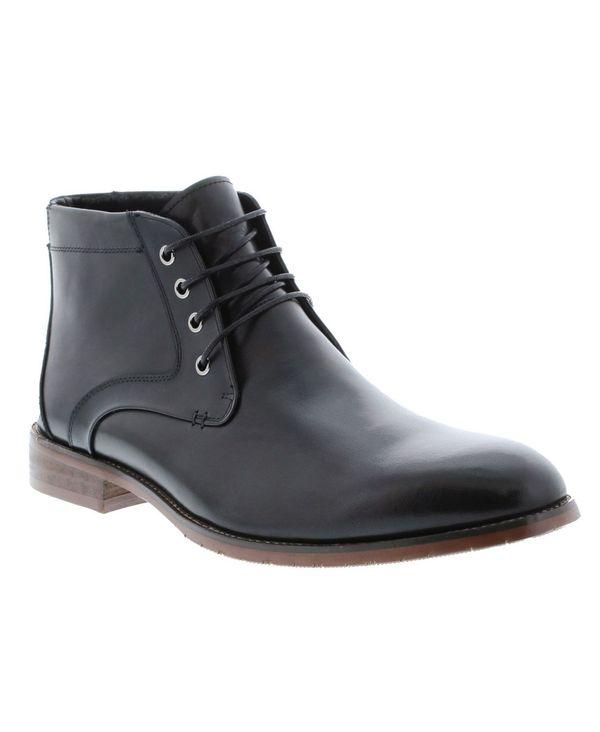 送料無料 サイズ交換無料 イングリッシュランドリー メンズ シューズ ブーツ レインブーツ Black Up Casual Boot Dress Men's 店舗 5☆好評 Lace