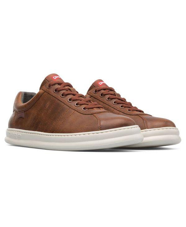 送料無料 公式ショップ サイズ交換無料 カンペール メンズ シューズ スニーカー Brown Sneakers Men's M Four 物品 Runner