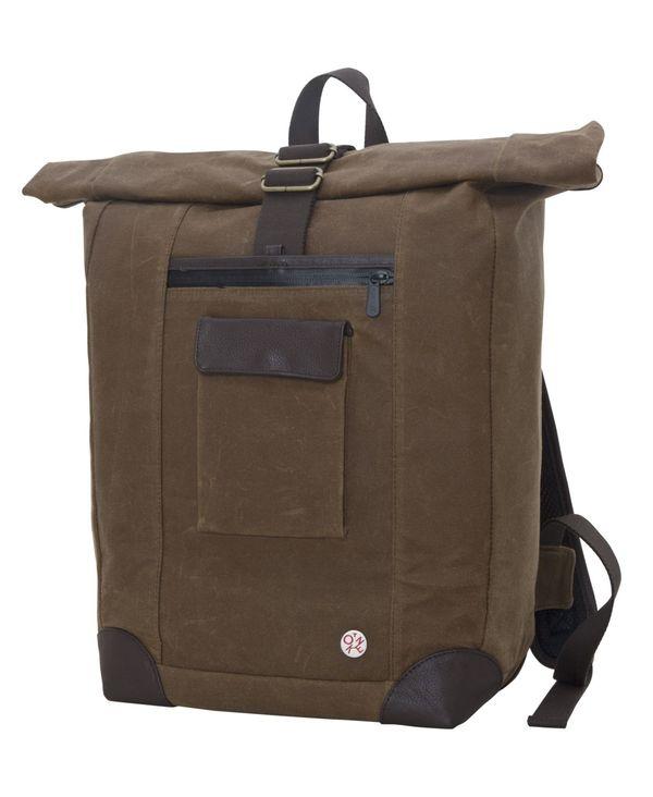 トーケン レディース バックパック・リュックサック バッグ Waxed Montrose Backpack Tan