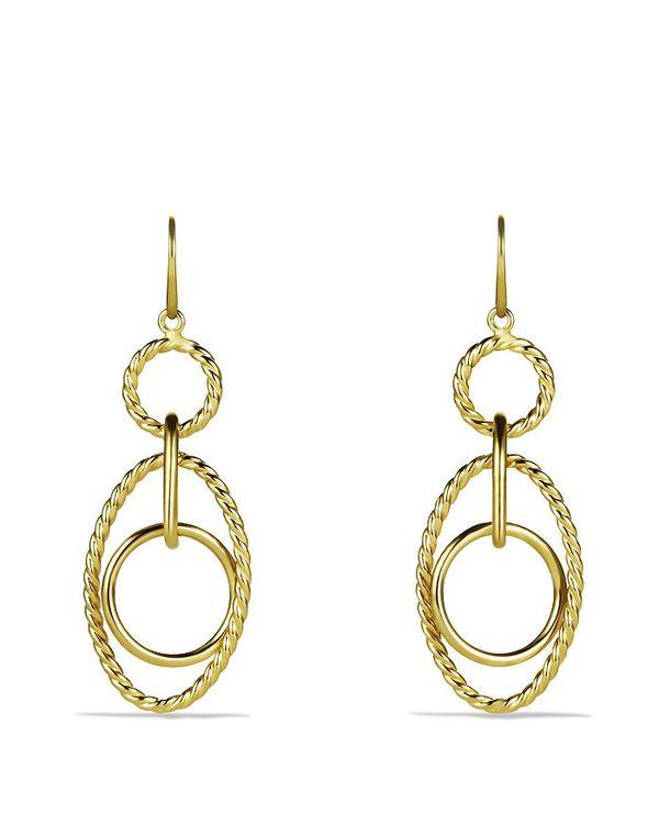 人気満点 デイビット Gold・ユーマン レディース ピアス・イヤリング Mobile アクセサリー Mobile Gold Small Link Earrings in Gold Yellow Gold, イージャパンアンドカンパニーズ:7abcdad6 --- online-cv.site