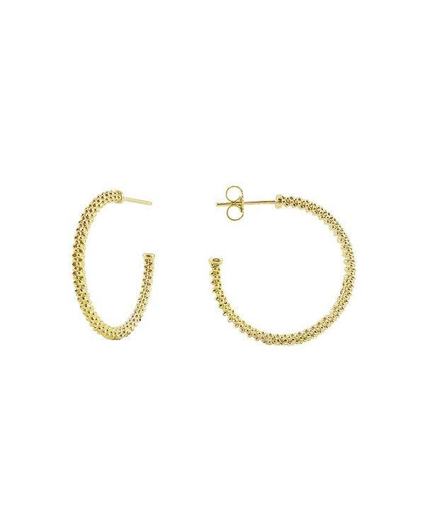 【税込?送料無料】 ラゴス レディース Gold ピアス・イヤリング アクセサリー Gold 18K 18K Gold Hoop Earrings Gold, みやひろ:e68126de --- fotostrba.sk