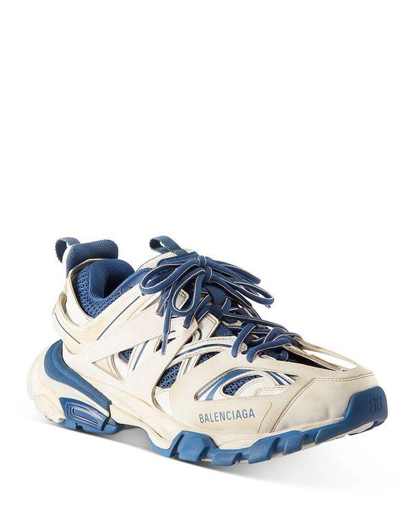 【超特価】 バレンシアガ レディース スニーカー シューズ レディース Women's Track スニーカー Low Top Women's Sneakers White/Blue, 荒尾市:deaf8fed --- irecyclecampaign.org