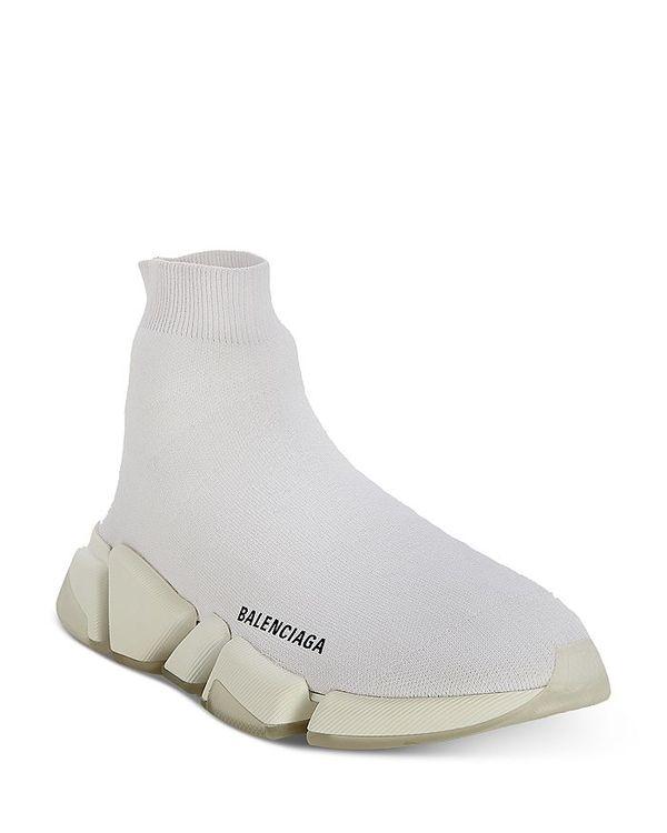 ブランド品専門の バレンシアガ レディース スニーカー シューズ Women's Speed レディース 2.0 Sock Sneakers Sneakers Women's Bianco/Black Transparent, HOMEDESIGN:af5f986d --- irecyclecampaign.org
