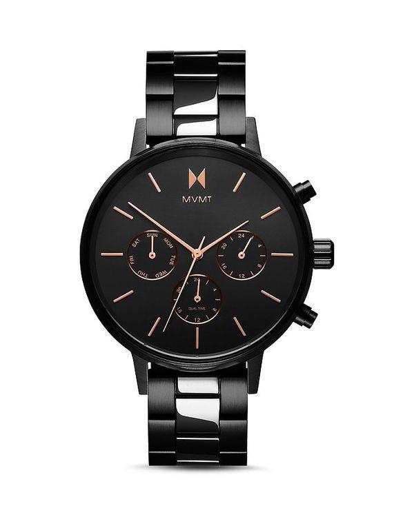送料無料 サイズ交換無料 割引 エムブイエムティー レディース アクセサリー 送料無料でお届けします 腕時計 Black Crux Watch Nova 38mm