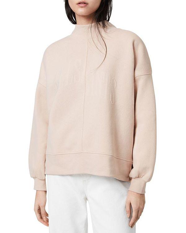 激安特価 オールセインツ レディース ニット セーター アウター Nevarra Mock Neck Sweatshirt Rosedust Pink Carolinaballet Org