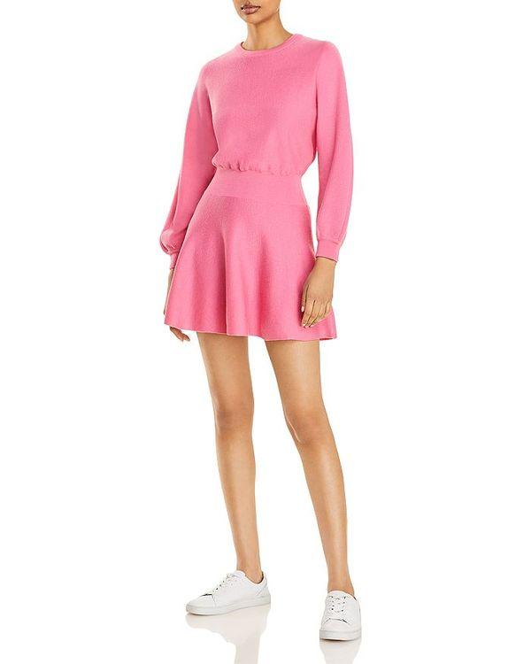 セール特価 アリスアンドオリビア レディース ワンピース トップス Sleeve Murray Balloon Murray Sleeve Mini Dress Pink Calypso Pink, クマノシ:75aaf606 --- heathtax.com