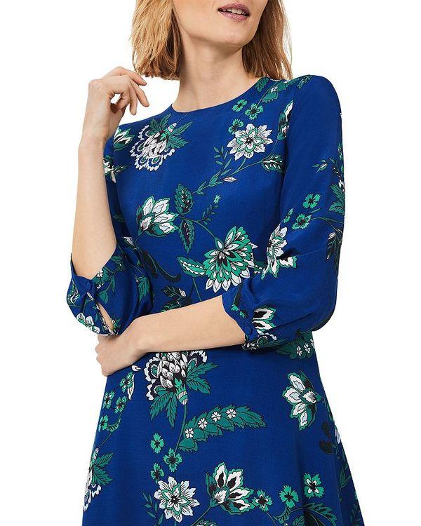 Azure Dress Printed レディース トップス ホッブスロンドン Marietta ワンピース Apple