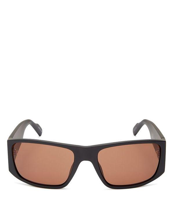 ケンゾー レディース サングラス・アイウェア アクセサリー Women's Square Sunglasses 58mm Black/Brown