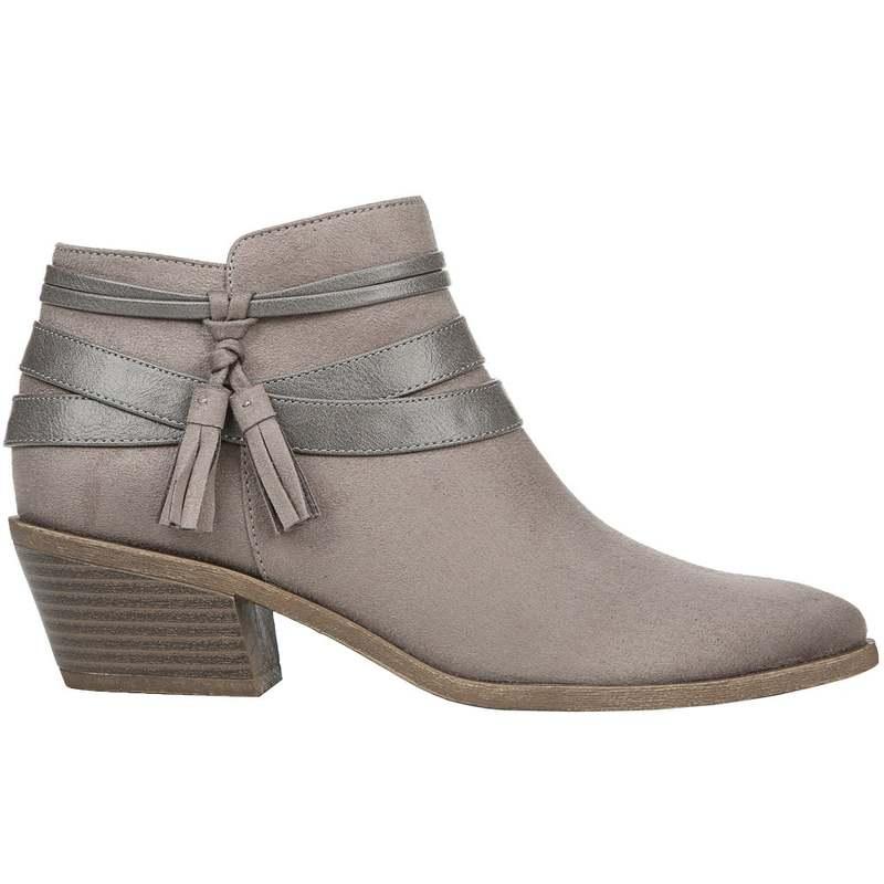 送料無料 サイズ交換無料 ライフストライド レディース シューズ 公式サイト ブーツ お買い得 Paloma Heather Booties レインブーツ Grey