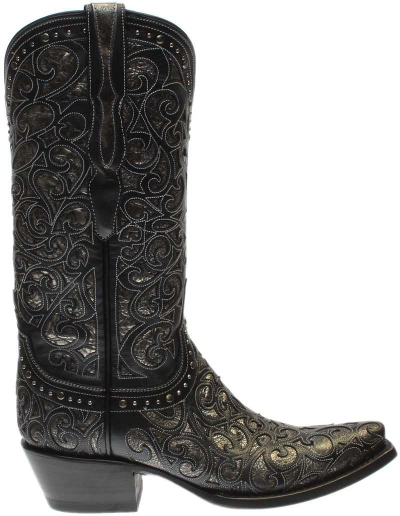【超歓迎】 ルチーズ Toe Snip レディース Cowboy ブーツ・レインブーツ シューズ Sierra Snip Toe Cowboy Boots Black, トータルフットウエア FOOT PLACE:29fdc01a --- villanergiz.com