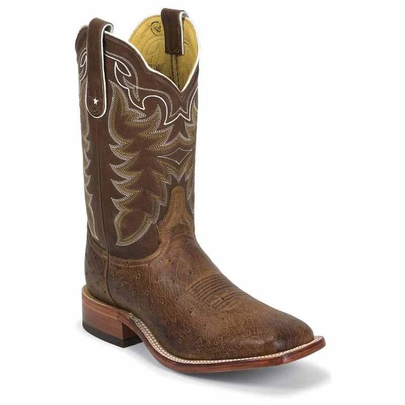 送料無料 サイズ交換無料 トニーラマ メンズ シューズ ブーツ レインブーツ Chocolate 11 Boots Ostrich Square 新作多数 いよいよ人気ブランド Cowboy Smooth Vintage Inch Toe