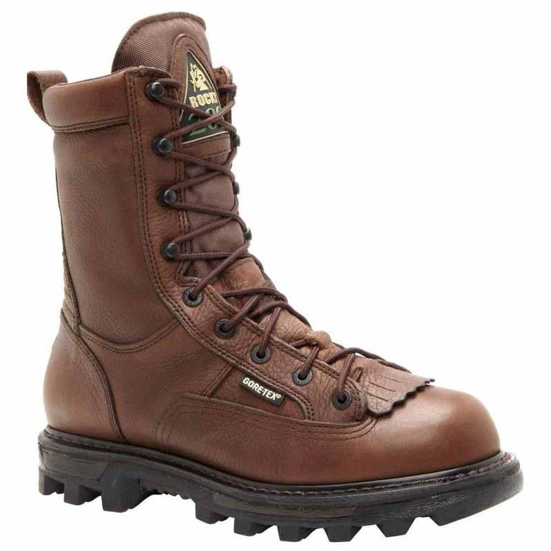 送料無料 サイズ交換無料 ロッキー メンズ シューズ キャンペーンもお見逃しなく 気質アップ ブーツ レインブーツ Brown Insulated Gore-Tex 9 Waterproof inch Bearclaw3D Outdoor Boots
