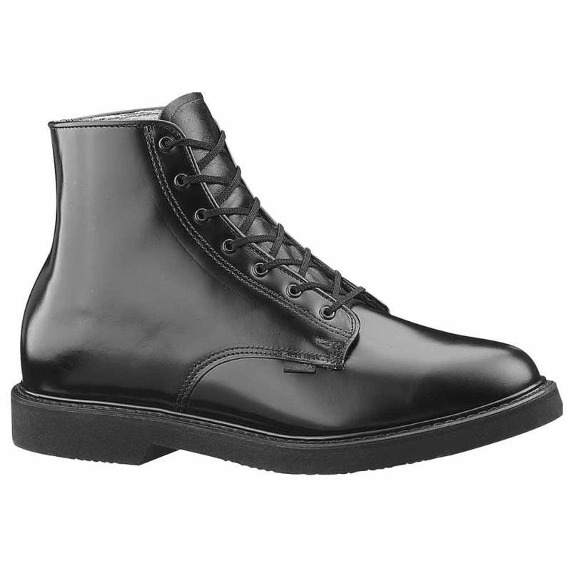 絶品 送料無料 サイズ交換無料 ベイツ メンズ シューズ ブーツ レインブーツ Black Chukka Work 安心の定価販売 Lites Boots Leather 6 Inch