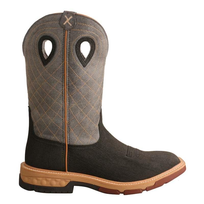 送料無料 サイズ交換無料 ツイステッドエックス クリアランスsale 期間限定 メンズ 店内限界値引き中&セルフラッピング無料 シューズ ブーツ レインブーツ Alloy Black Boot Toe Western Work