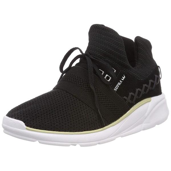 スープラ レディース スニーカー シューズ Catori Shoes Footwear Black / White