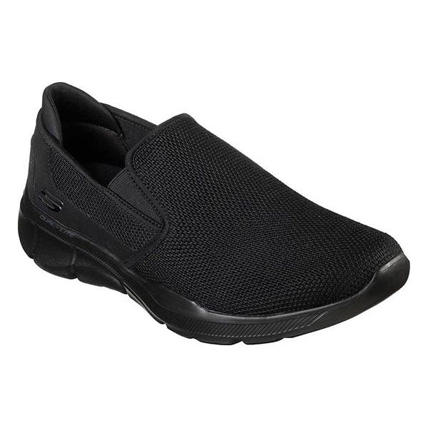 スケッチャーズ メンズ スニーカー シューズ Equalizer 3.0 Sumnin Slip-On Sneaker Black/Black
