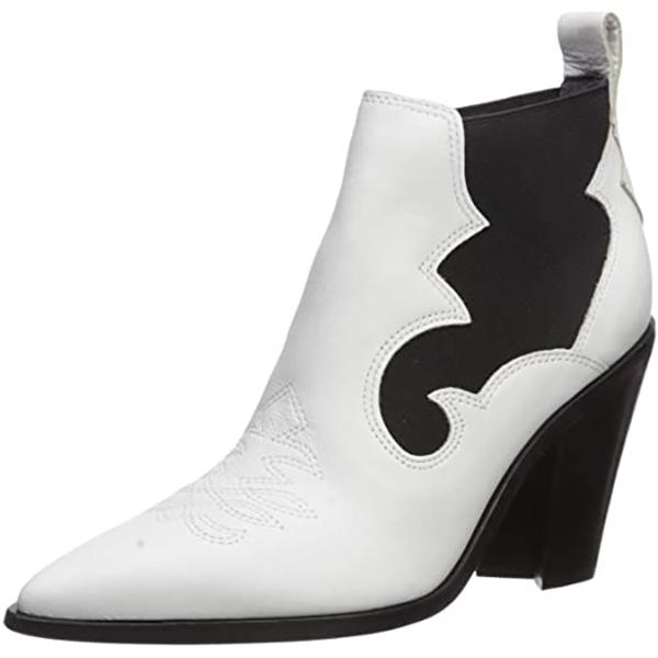 シガーソン モリソン レディース ブーツ・レインブーツ シューズ Kaleb Ankle Boot white