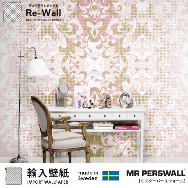 MR PERSWALL 日本最大の取扱点数 取り寄せ品はメーカーから週に1度の定期便で入荷 最新コレクション随時入荷中!! 壁紙 輸入壁紙 MR PERSWALL FASHION