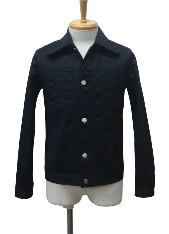 【50%OFF!!SALE!!】ORIGINAL JOHN オリジナルジョン SWELL STRING JACKET BLK【あす楽対応】