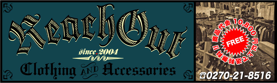 REACH OUT:THEE OLD CIRCUS,PARANOID,Burnout,Argent Gleam,CRIMIE等 正規取扱店