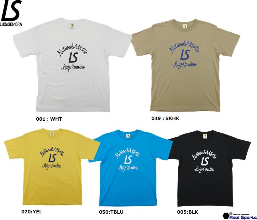 2021 購入 -SPRING SUMMER- 新作 LUZeSOMBRA ルースイソンブラ 21SS NATURAL フットサル L1213200 T-SHIRT 半袖Tシャツ ウェア サッカー 超激得SALE MYSTIC レアルスポーツ